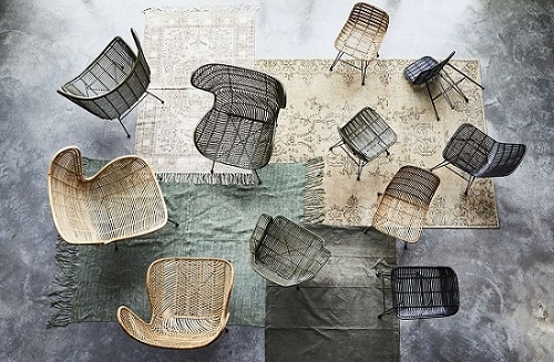 rattanowe fotele