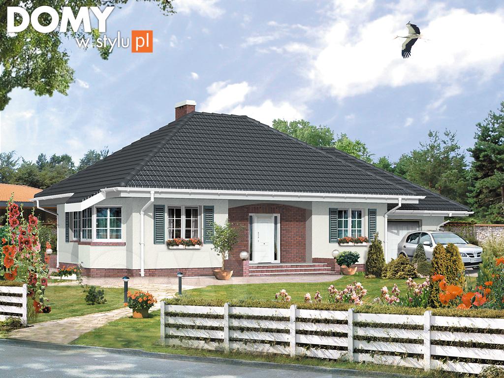 Najlepsze gotowe projekty domów parterowych